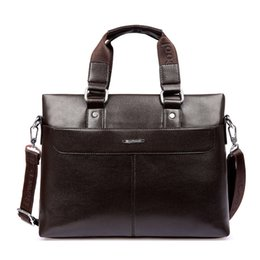 Wholesale New Men Genuine Leather Messenger Bag Men s Briefcase Lowest Price Best Gifts Men s Computer Business Laptop