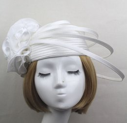 Fascinator top hat women lady party wedding charm hair jewelry stage perform photography flower cap headwear fashion festive Christmas gift