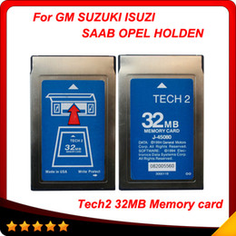 Wholesale High quality gm tech2 card MB for Softwares opitional GM OPEL ISUZU SUZUKI OPEL HOLDEN SAAB also for empty card
