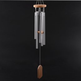 Wholesale Antique Amazing Grace Deep Resonant Tube Windchime Chapel Bells Wind Chimes Door Hanging Home Dec