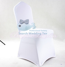 Wholesale 100PCS White Lycra Wedding Spandex Chair Cover Universal Poly Banquet Chair Cover