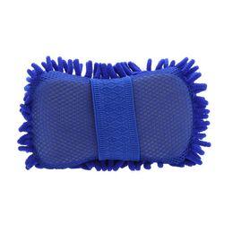 100pcs Microfiber Snow Neil fiber high density car wash mitt car wash gloves towel