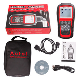 Wholesale Original Autel AutoLink AL619 OBDII CAN ABS And SRS Scan Tool Update Online Autel AL619 OBD2 With