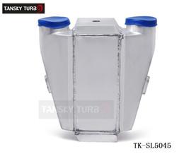 Wholesale TANSKY Universal JDM quot x12 quot X4 quot Bar Plate Front Mount Liquid Water to Air Intercooler TK SL5045