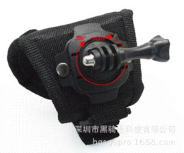 Size:S 360-degree Rotation With screw Creative Glove-style Mount for go pro camera gopro hero 3 gopro hero 4 gopro accessories