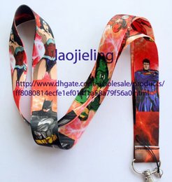 Wholesale Mobile Phone Accessories Justice League Superman lanyard Mobile Phone Straps Free shiping Wholesale 20 pcs