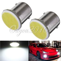 Free Shipping 10pcs lot White 1156 BA15S COB LED Auto RV Trunk Interior Light Car Tail Turn Signal Bulb Reverse Lamp 12V