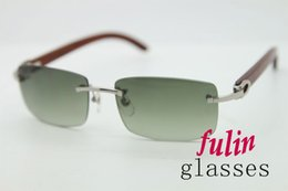 High Quality Sunglasses For Men Use On Holiday Sun Glaases Wood Famous Brand 3524012 Size 56-18-140mm