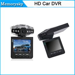 Wholesale 720P HD Night Vision Mini Auto Car DVR Camera Video Recorder Vehicle Car Black Box Inch TFT Rotatable LCD Screen C