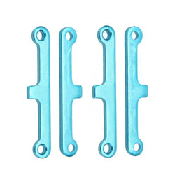 Wholesale 2 Set Upgrade Parts Blue Aluminum Suspension Arm Pad for HSP Car Buggy ATV Truck Truggy Cars order lt no track