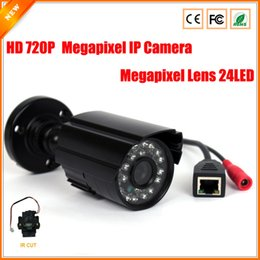 HD 1.0 Megapixel IP Camera Outdoor Bullet Waterproof 720P Security Surveillance Mini CCTV Camera IR Cut P2P Megapixel Lens