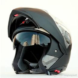 envío libre! casco de la motocicleta de doble lente GXT tirón encima de casco integral ECE vendimia de doble lente de carreras capacete aprobado A5 desde cascos de carreras de la vendimia proveedores