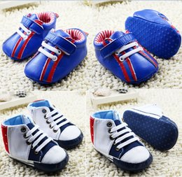 Wholesale blue Casual baby shoes,white canvas toddler shoes,non-slip infant walking shoes,boys girls sports kids shoes.9pairs 18pcs.C