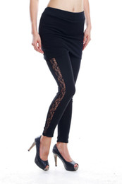 Wholesale Aries Exclusive Custom Design New Arrived Extra Large Size cm Extended Long Leggings For Tall Women With Skirt Sexxing Lace High Hot Sale