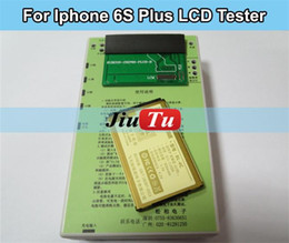 LCD display & Digitizer Touch screen panel Tester test board+battery for iphone 4 4S 5 5S 5C 6G 6 plus 6S 6S plus