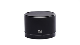 Wholesale china hot selling authentic HF portable bluetooth speaker black xiaomi speaker with HF voice suite for xiaomi HTC ect android cellphone