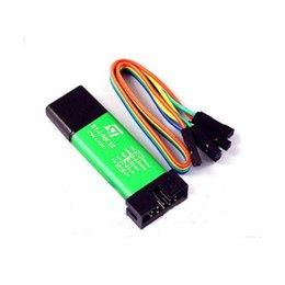 Wholesale ST Link V2 Metal Shell STM8 STM32 Emulator Downloader Programming Unit Hot US32