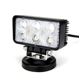18W LED Work Light Offroad Flood Driving Light For 4X4 Truck Tractor SUV ATV Car LED LED Fog Headlight