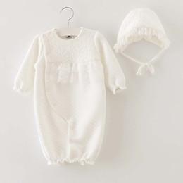 Wholesale Newborn Romper Kid Girl Dress Baby Onesies Children Clothes Kids Clothing Autumn Winter Jumpsuit Princess Lace Romper Baby Dress C16929