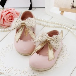 cute bowknot princess single shoe sweet fashion style children shoes girls shoes s hotsale new children leather shoes