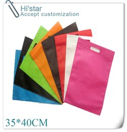 Wholesale 20 cm pieces Non Woven Shopping Bags Garment Manufacturer Ecologic Cheap Colorful Bag Reusable Produce Bags in China