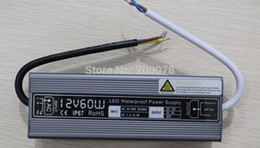 IP67 60W Waterproof Power Transformer DC 12V Constant Voltage Switching Power Supply Driver for LED Light