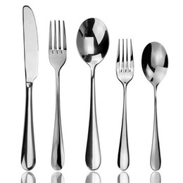 Wholesale High Quality Aoosy Flatware Set Stainless Steel Table Knife Fork Spoon Set for Home Restaurant Hotel Dinnnerware Service for