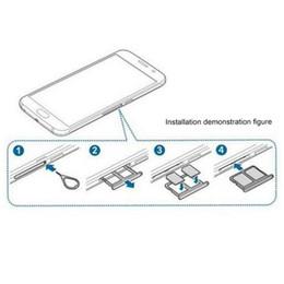 Wholesale-Dual SIM Card Tray for Samsung Galaxy S6