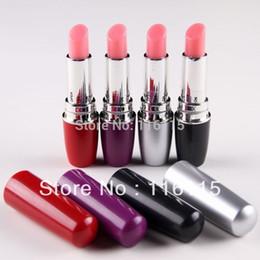 10ps lot mix 4 color Lipstick Vibrators sex toys for woman,sexy vibrating lipstick clitoris pussy vibrator massager for femal