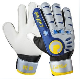 Wholesale Full Finger Latex plam Brand boys football gloves Reusch Soccer Football Best quality Goalkeeper Gloves