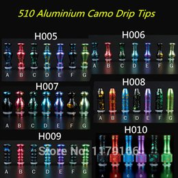 Wholesale electronic cigarette accessory colorful Gourd Metal Drip Tip Aluminum Mouthpiece for EGO DCT Vivi Nova Tanks