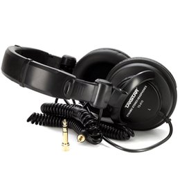 Wholesale High quality Takstar TS monitoring headphones mm mm HI FI Music DJ headset stereo recording studio earphone Best price
