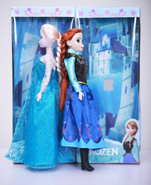 Hot sale 11.5 inch sing frozen doll music frozen toys sing let it go Anna and Elsa Princess brinquedos toys for children