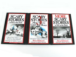 Wholesale 2016 Scary Stories More Tales to Chill Your Bones Scary Stories to Tell In the Dark More Scary Stories to Tell in the Dark set