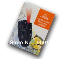 Promotion alcool trousseau Gros-100PC / lot - testeur d'haleine d'alcool LCD alcootest Analyzer test du détecteur Keychain, Livraison gratuite, dropshipping