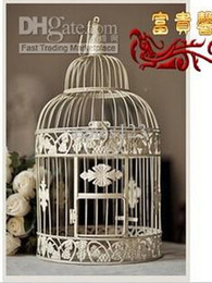 Wholesale Rich iron birdcage soft decoration Large birdbrains fashion bird cage top sale