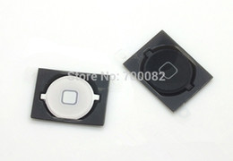 50Pcs mayor-Venta al por mayor / Lot Tecla Inicio + Botón original de goma Junta Cap + Mat Set Completo para el iPhone 4S desde iphone 4s conjunto completo fabricantes