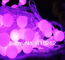 Wholesale-10pcs 10m LED bead PURPLE lamp for Cafe\hotel\shops\department stores\streets\house roof free shipping,Wholesale and retail