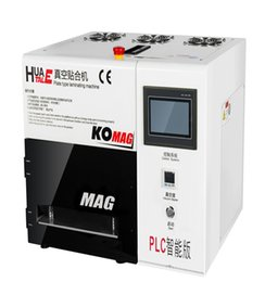 Wholesale KO MAG LCD OCA Vacuum Laminating Machine in Set with Vacuum Pump Air Compressor No Mould No Need Remove Bubble