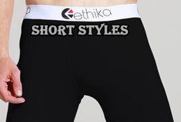 Wholesale Newest brand men s Ethika boxer shorts cueca men underwear color mix order print male panties styles online
