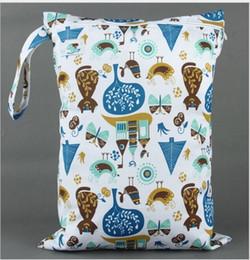 Bébé tissu réutilisable couche nappy en Ligne-expédition 40 Styles Hot bébé Protable Nappy réutilisable Lavable Wet Dry Cloth Zipper Sac étanche Diaper Accessoires gratuit A-20