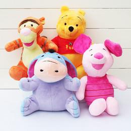 Wholesale WINNIE Toy POOH bear PIGLET TIGGER EEYORE Plush Doll cut Four styles Minions Stuffed Toys