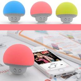 Mushroom Speaker Mini Bluetooth Speaker Wireless Potable Waterproof Home Outdoor Loudspeaker Fit For Samsung Iphone Free DHL