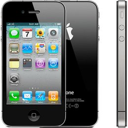 Original Apple Iphone 4S IOS7.0 3G Smartphones Dual Core 16G ROM 32G ROM 3G WCDMA Factory Unlocked