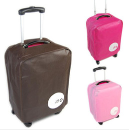 Wholesale Luggage Protective Cover inch Suitcase Cover Pull Rod Trunk Case Cover Travel Bag Cover Thick Non woven Cover LJJE436