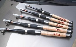 Wholesale 2 m Retractable Fishing Pole Fishing Tackle Equipment Carbon Fishing Rod os201