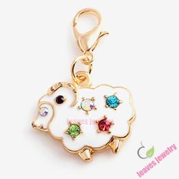 Charme agréable chèvre dangle charmes s'adapter locket flottant, boucle d'oreille, anneau, bracelet, porte-clés ou collier bijoux accessoires, meilleurs cadeaux à partir de charmes de chèvre fabricateur
