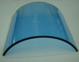 Wholesale O R light lamp filter heat absorbing glass filter mm heating filter blue color for O T theater Operating room light lamp