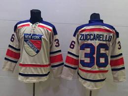 Wholesale Cheap New York Rangers Mats Zuccarello Jersey Cream Hockey Jersey Winter Classic beige Jerseys Stitched Name Logo Drop Shipping