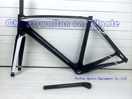 Wholesale 2015 newest road carbon bike frame frameset fork seat post headset complete logo super light carbon racing bicycle frames